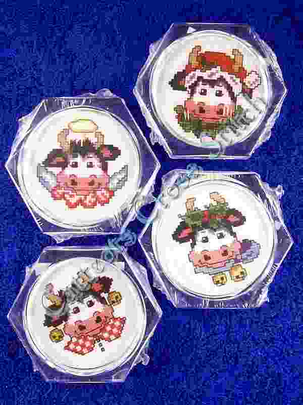 Holy Cow Set of 4 Coasters