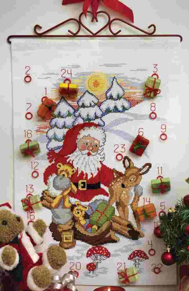 Anchor Santa Advent Calendar