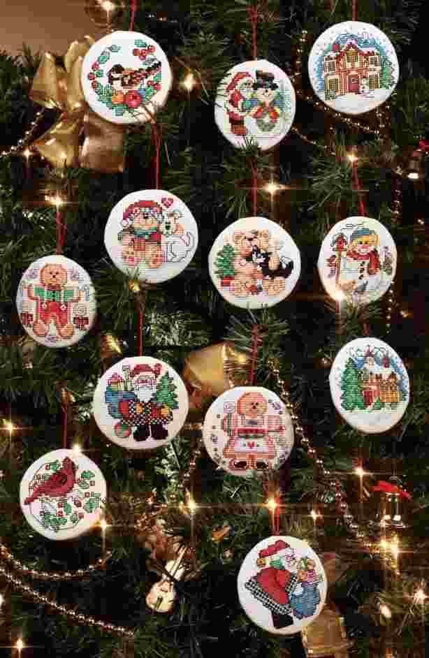 Holiday Favourites Set of 12 Ornaments
