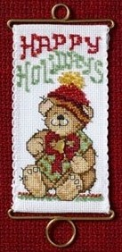 Mill Hill Holiday Bear